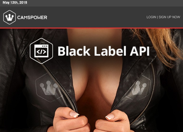 Camspower has launched what they call their 'Black Label' API tool.