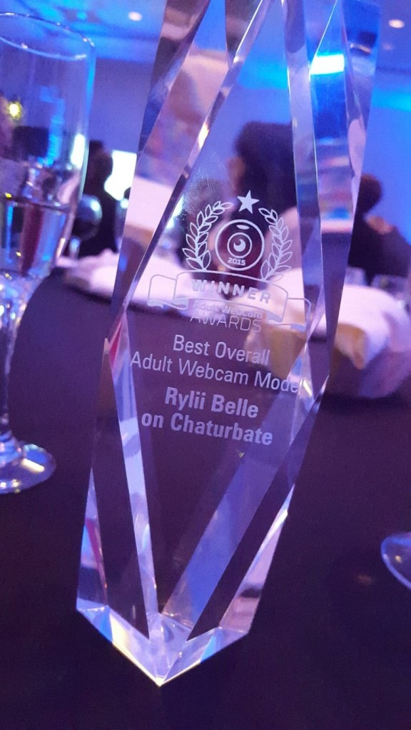 Best Overall Adult Webcam Model Trophy