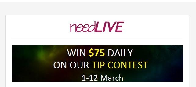 New Live Webcam Site NeedLive.com Running Multiple Promotions