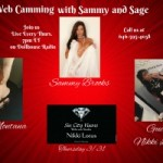 Sammy Brooks Radio show Guest: Sin City Vixens Owner/Operator Nikki Lotus