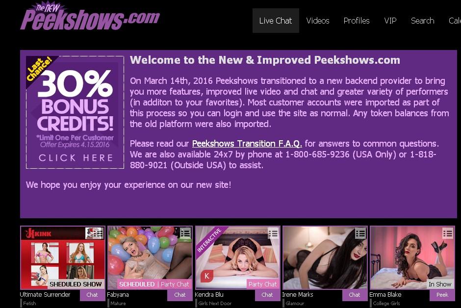 Flirt4Free buys PeekShows