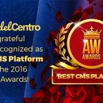 ModelCentro Recognized as Best CMS at the AW Awards
