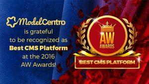ModelCentro AW Awards