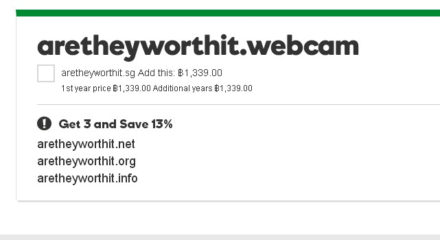 Are .webcam domain names worth buying? The jury is still out.