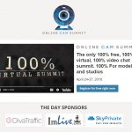The first Online Cam Summit is coming out in April 24
